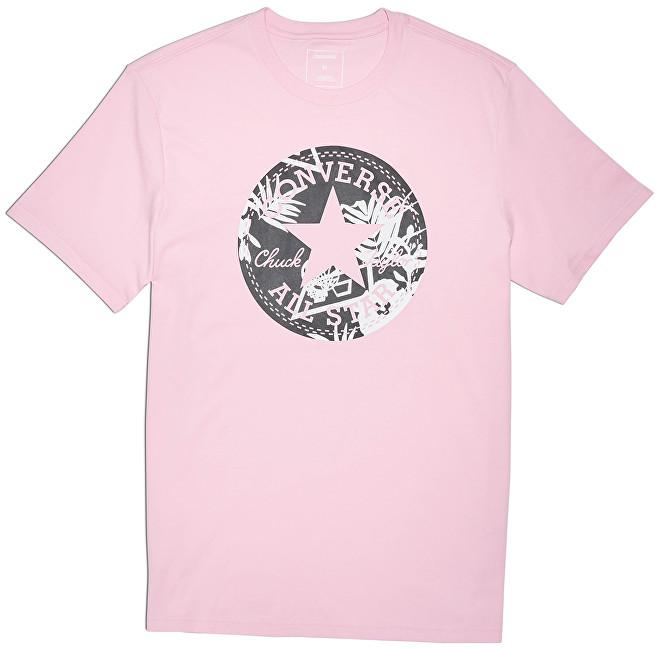 5847890f427 Converse Pánske tričko Converse Palm Print Chuck Patch Tee Cherry Blossom S