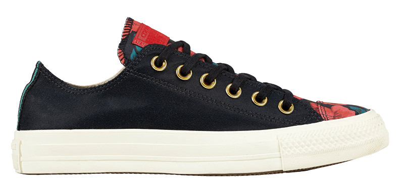 Converse Tenisky Chuck Taylor All Star Black-Cherry Red-Egret 37