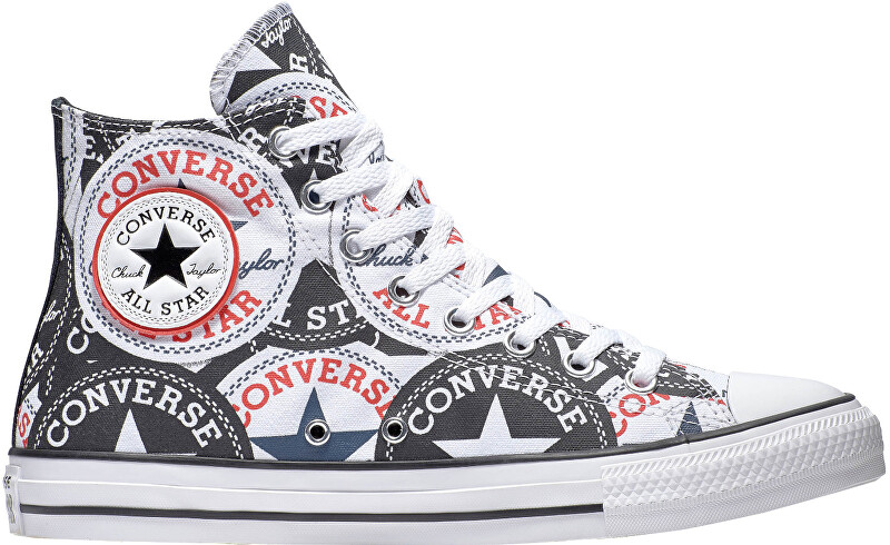 Converse Tenisky Chuck Taylor All Star BlackMultiWhite 46