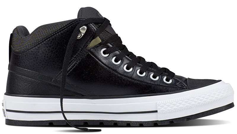 Converse Tenisky Chuck Taylor AS Street Boot Black-Storm Wind-White 40