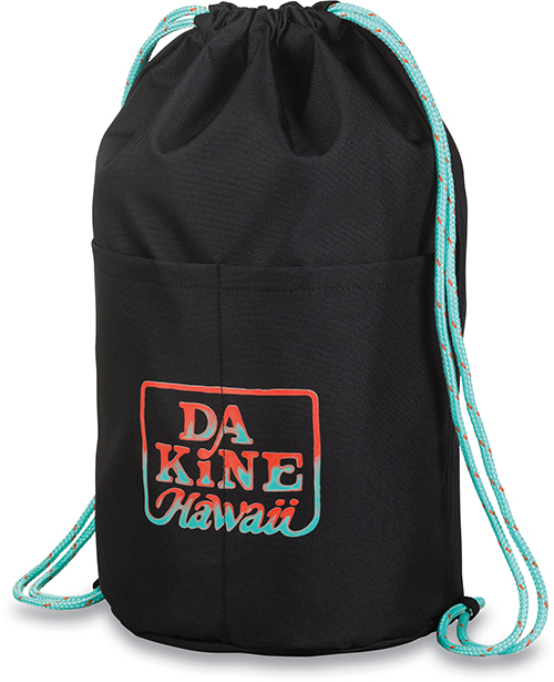 Dakine Vak Cinch Pack 17L Black Tropical 10001434-W18