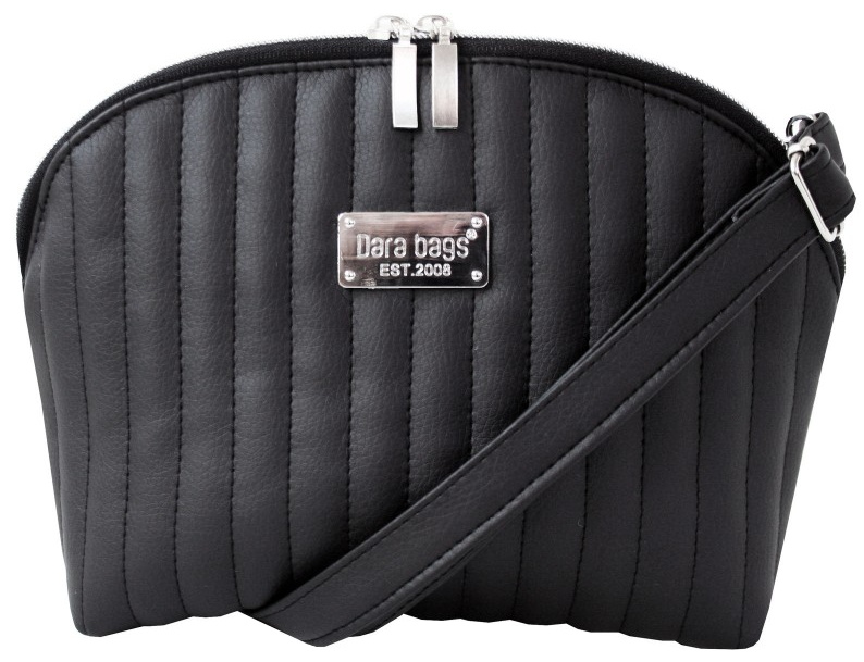 7f4fe866be Dara bags Crossbody kabelka Bel Middle No. 45 Deep Black Matt
