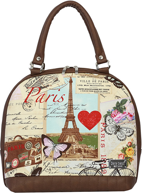 Dara bags Kabelka Sweet Angel Bell Big No. 405 I love Paris