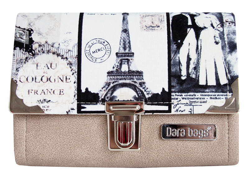 Dara bags Peňaženka Third Line Purse No. 287 I love Paris