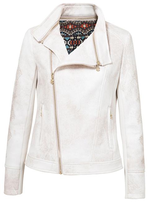 Desigual Jachetă pentru femei Chaq Marble Egret 19SWEW17 1031 44