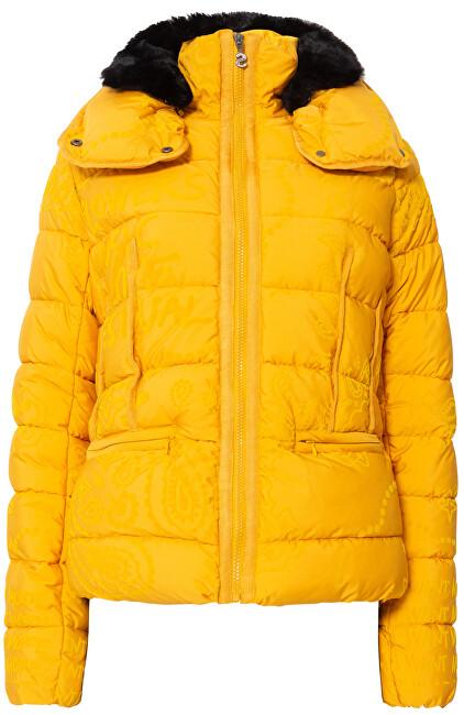 Desigual Doamne jacket Padded Sunna Banana 19WWEW42 8007 42