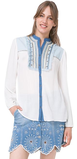 Desigual Dámska košeľa Cam Jeans 12 74C2JB4 1015 XS