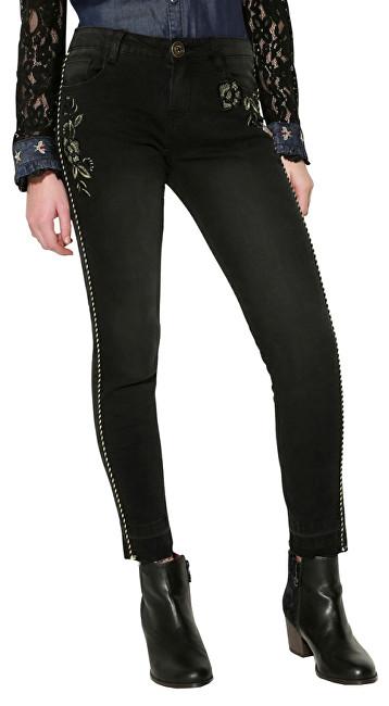 Desigual Pantaloni Denim Pippin 17WWDD00 5009 27