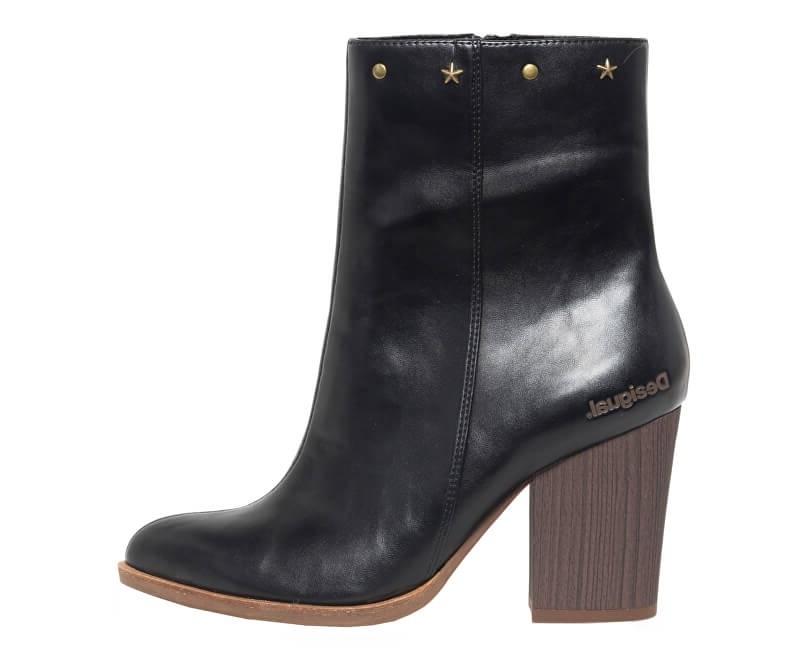 Desigual Pantofi pentru femei Shoes Folk Gipsy Patch Negro 18WSTP06 2000 40