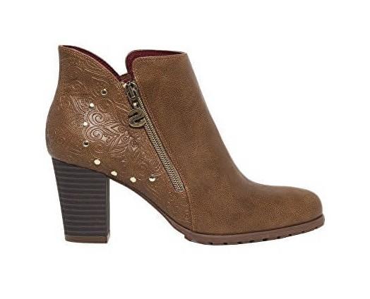 fa63c3a9d35 Desigual Dámské kotníkové boty Shoes Frida Winter Valkiria Choco 18WSAP02  6029 38