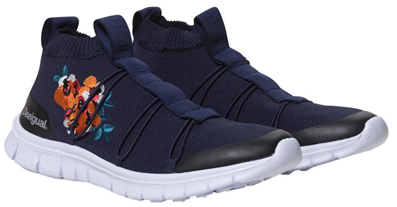 Desigual Adidasi Knitted Sneaker Azul Tinta 19SUKK01 5096 36