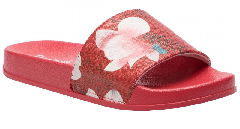 Desigual Pantofi Sandel Hindi Dancer Poppy Coral 19SUBP01 7058 40