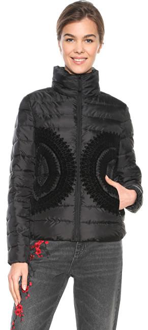 Desigual Jacket femeiePadded Pune Negro 18WWEWB8 2000 40