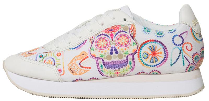 Desigual Pantofi pentru femei Galaxy Skull 19SSKF08 1000 40