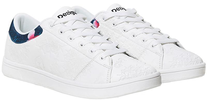 Desigual Adidasi Tennis Hindi Dancer Blanco 19SUKP02 1000 40