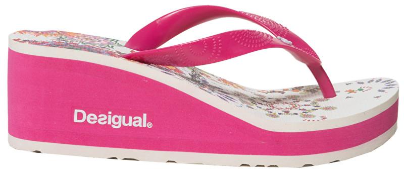 Desigual Doamnelor pantofi Shoes Lola Galactic Fuxia Magico 19SSHF18 3062 40