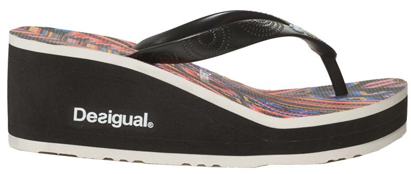 Desigual Pantofi pentru femei Shoes Lola Mexican Negro 19SSHF19 2000 36