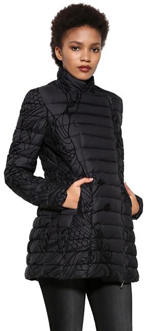 Desigual Dámsky kabát Abrig Osamim 17WWEW39 2000 36