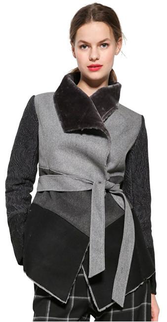 Desigual Dámsky kabát Chaq Bibianne 17WWEWB1 2042 44