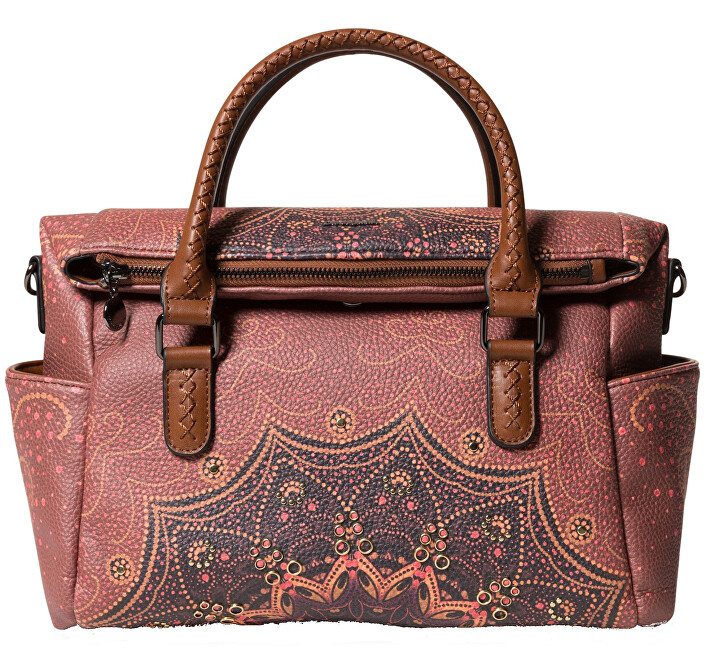 Desigual Geantă Bols Tekila Sunrise Loverty Cognac 19WAXP85 6042
