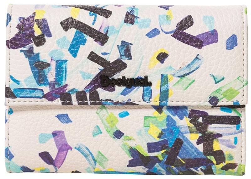 Desigual Peňaženka Mone Confetti Alba Negro 19SAYP32 2000