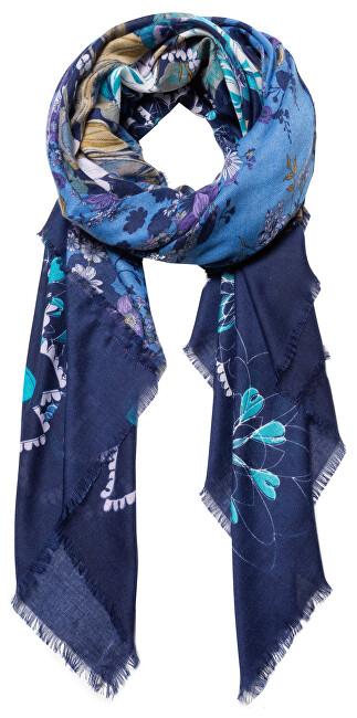 Desigual Eșarfă Foul Flower Patch Medieval Blue 19WAWA45 5074