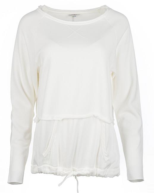 Deha Dámská mikina Double Sweatshirt B84060 Snow XL 54e8f44ea2