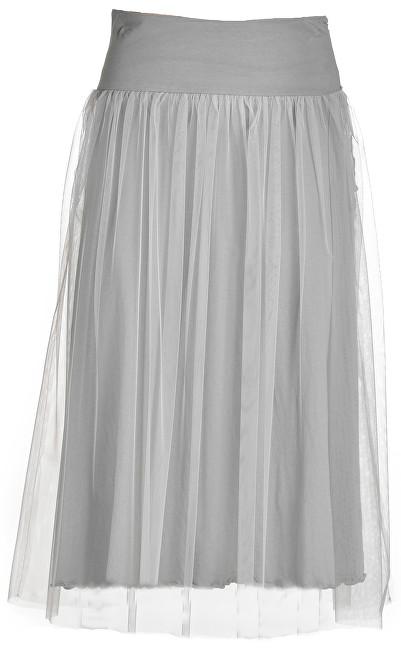 Deha Dámska sukňa Side Knotted Skirt B74055 Pearl Gray M
