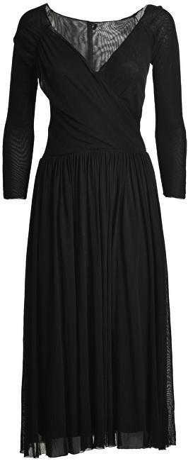 Deha Dámske šaty Double Tulle Dress B74018 Black M
