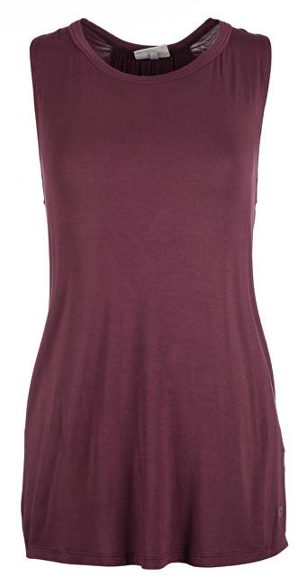Deha Dámske tričko Swing Top B84540 Red Mahogany XS