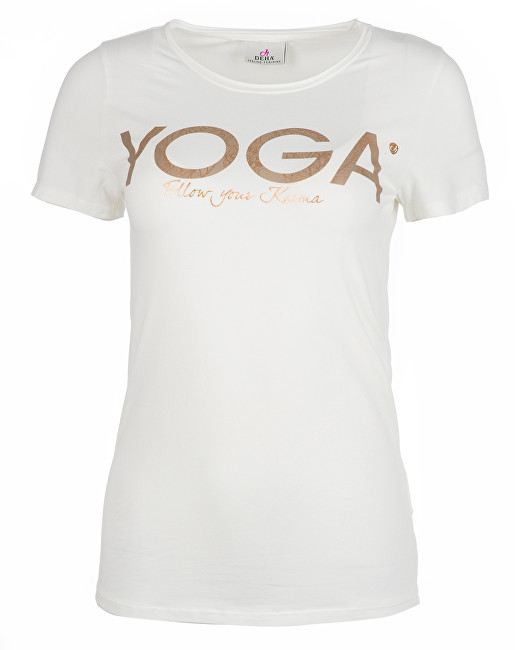 b0ce7a83d63a Hodinky Deha Dámske tričko T-Shirt B84670 Snow S