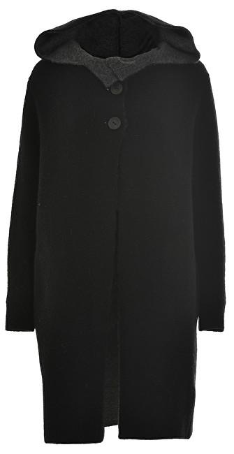 Deha Femeile strat Coat D63171 Black S