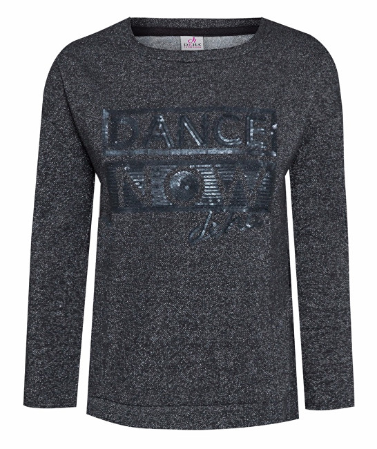 Deha Dámský svetr Maxi Sweatshirt D63670 Black M