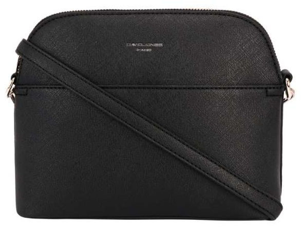 David Jones Dámská crossbody kabelka Black 62241