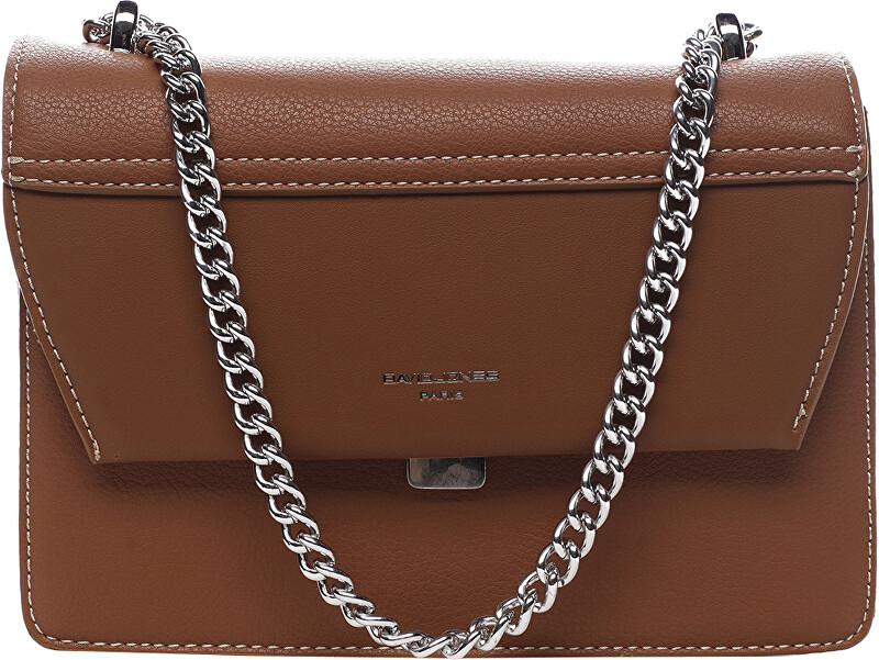 David Jones Dámska crossbody kabelka Cognac 6221-1
