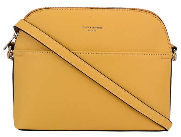 David Jones Dámská crossbody kabelka Yellow 62241