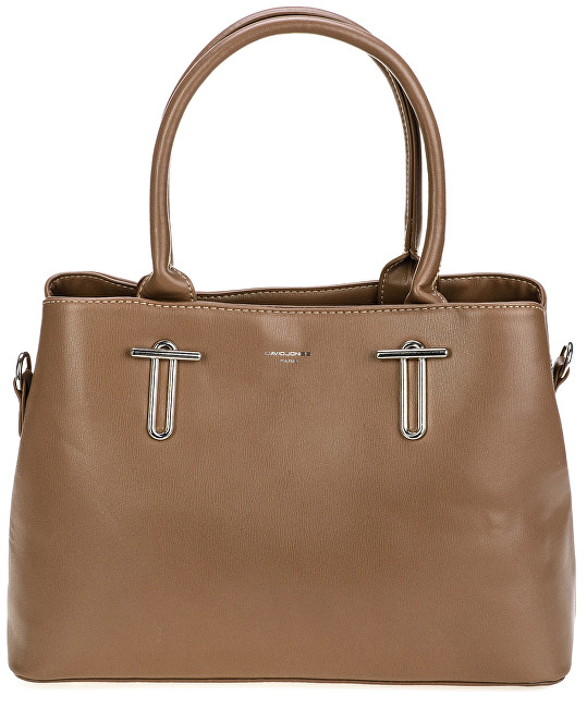 David Jones Dámska elegantná kabelka Brown 5643-1