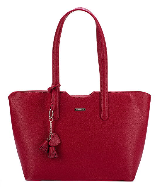 David Jones Dámska kabelka Bright Red CM3971