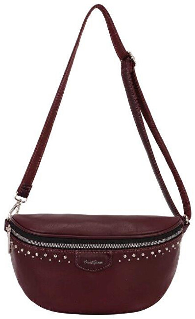David Jones Dámská ledvinka Dark Bordeaux CM5379