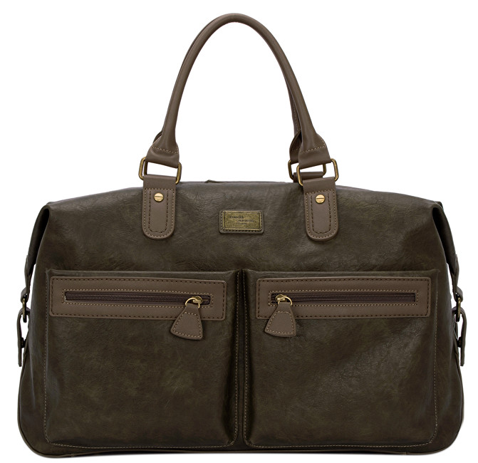 David Jones Dámska taška Dark Khaki CM3553
