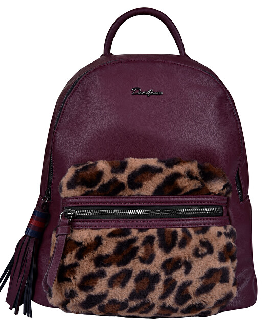 David Jones Dámský batoh Dark Bordeaux CM5393
