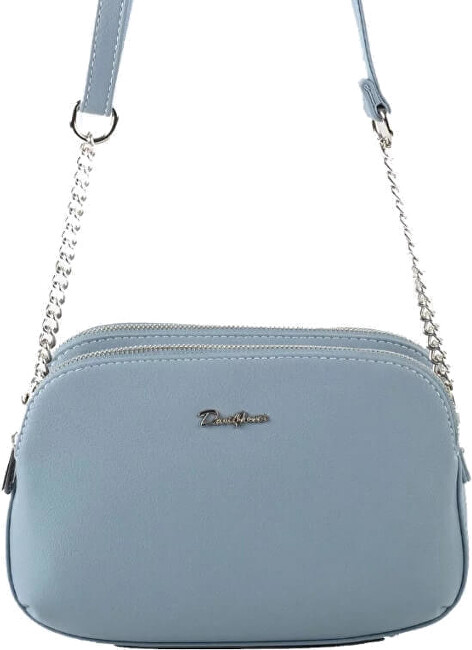 David Jones Dámská crossbody kabelka 62002 Light Blue