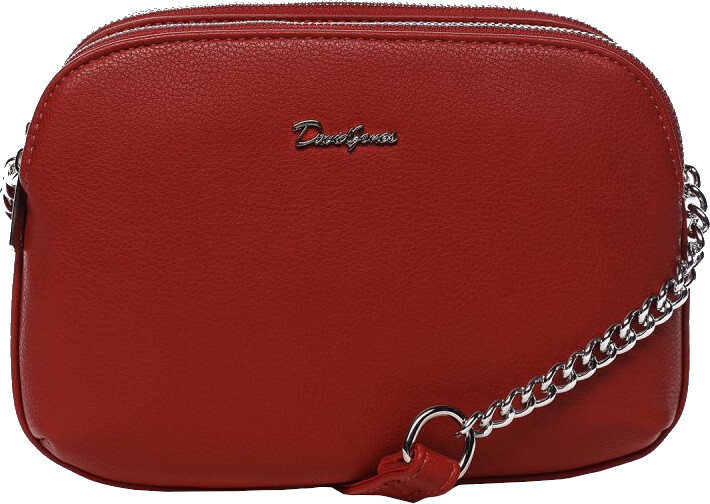 David Jones Dámská crossbody kabelka 62002 Red