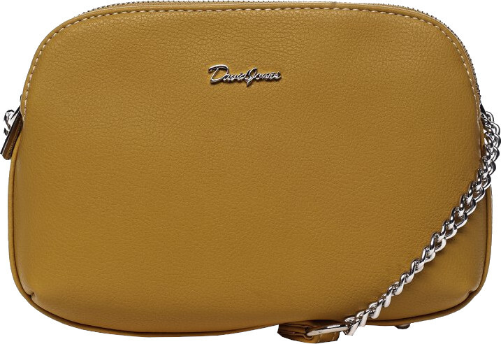 David Jones Dámská crossbody kabelka 62002 Yellow