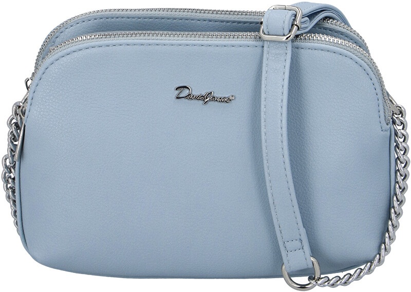 David Jones Dámská crossbody kabelka 65082 Light Blue