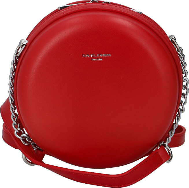 David Jones Dámská crossbody kabelka CM5658 Red