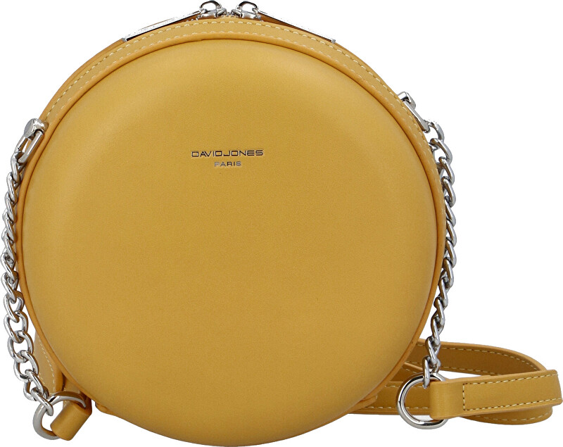 David Jones Dámská crossbody kabelka CM5658 Yellow