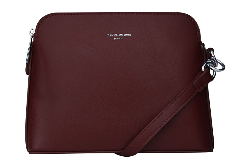 David Jones Dámska crossbody kabelka Dark Bordeaux 6407-1