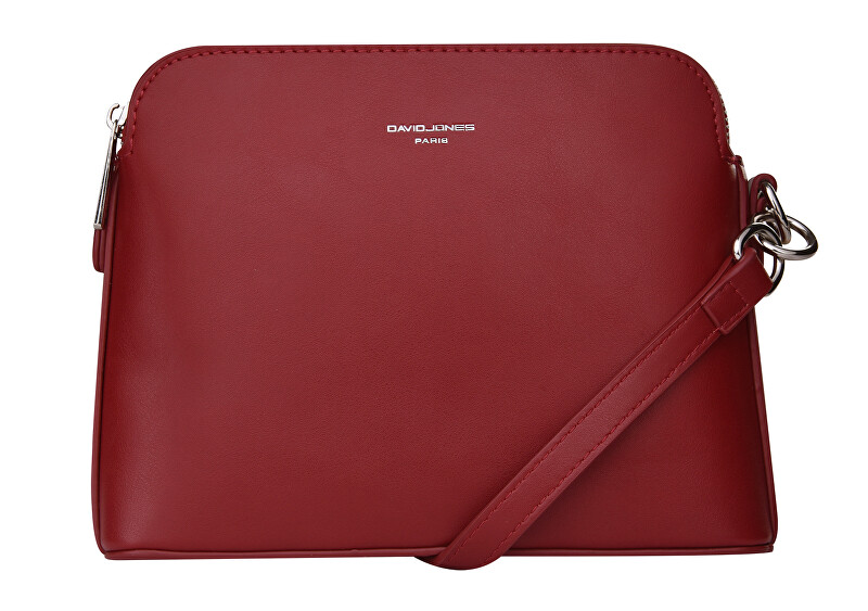 David Jones Dámska crossbody kabelka Dark Red 6407-1