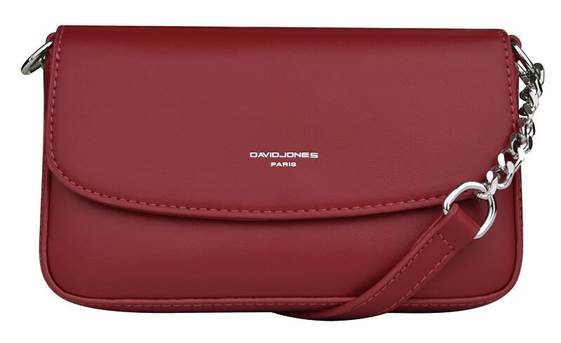 David Jones Dámska crossbody kabelka Dark Red CM5829